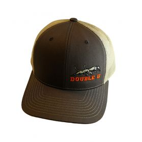 Double U Richardson 112 Brown with Tan Mesh Cap