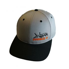 Double U Richardson 212 Grey with Black Bill Cap