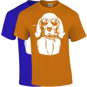 Dog Wearing Aviators T-Shirts
