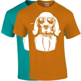 Dog Wearing Aviators Youth T-Shirts