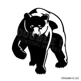 Black Bear Decal