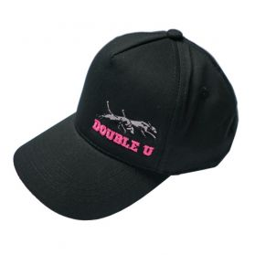 Double U Kids hat Pink letters