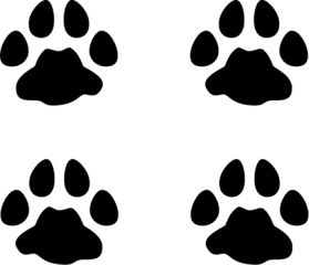 Bobcat Tracks Vinyl Decal