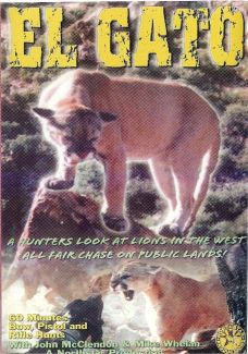 El Gato - Cougar Hunting DVD