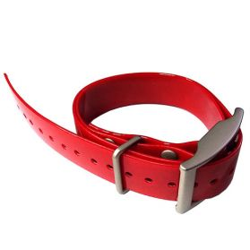 Red Garmin Factory GPS Collar Strap