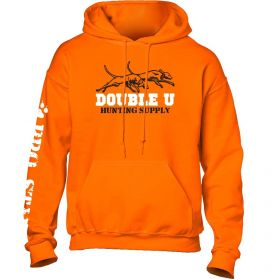 Double U Hunting Supply Youth Safety Orange ProStaff Hooded Sweatshirt
