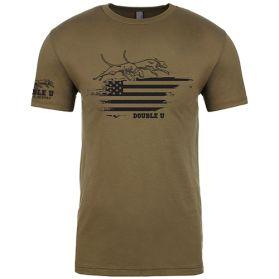 Military Green Double U Glory T-shirt