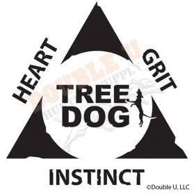 Treedog Triangle Decal