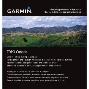 Garmin® TOPO Canada Map Card
