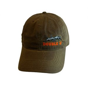 Double U Richardson 435 Brown Waxed Water Repellent Cap