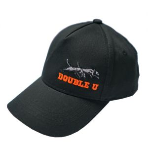 Double U Kids hat orange letters