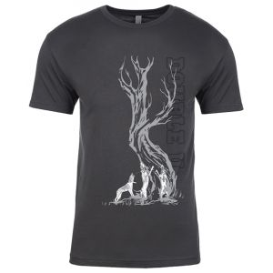 Double U Vertical Treeing Dog Shirt