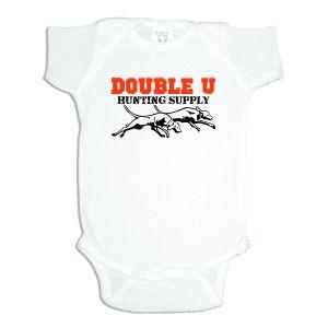 Double U Baby Onesie