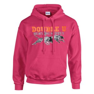"""Clearance"" Youth Pink Double U Hunting Sweatshirt"