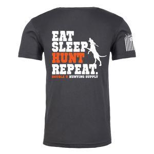 "Double U ""Eat Sleep Hunt Repeat"" Shirt"