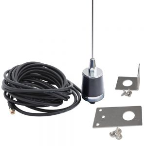 Tram Fender Mount Antenna with Flat or Angle Bracket