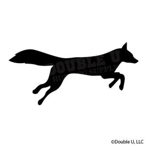 Fox Running decal