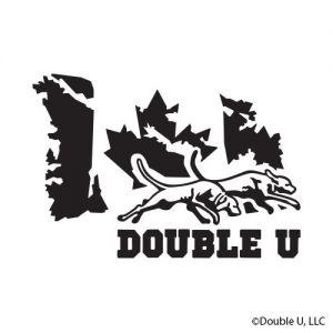 Double U Oh Canada Flag Decal