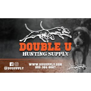 """Double U Logo Banner 60x36"""""""