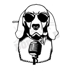 Podcast Dog Decal