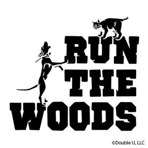 Run The Woods Bobcat Vinyl Decal