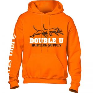 Double U Hunting Supply Safety Orange ProStaff Hooded Sweatshirt