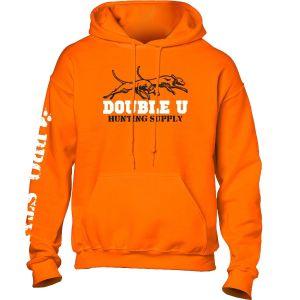 Double U Hunting Supply Youth Safety Orange ProStaff Hooded Sweatshirt