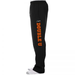 Double U unisex sweat pants with pockets (mock-up)