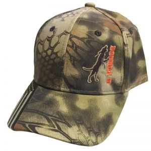 Double U Treed Dog Flag Bill Kryptek Camo Hat